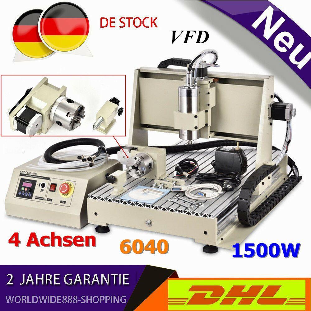 1500w 4 Achsen 6040 Cnc FrÃsmaschine FrÃser Graveur Bohrer Graviermaschine Vfd Cnc Espresso Machine Kitchen Appliances