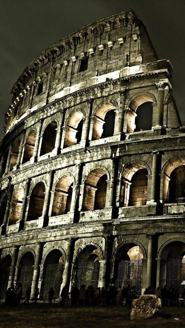 The Colosseum,  Rome, Italy **.