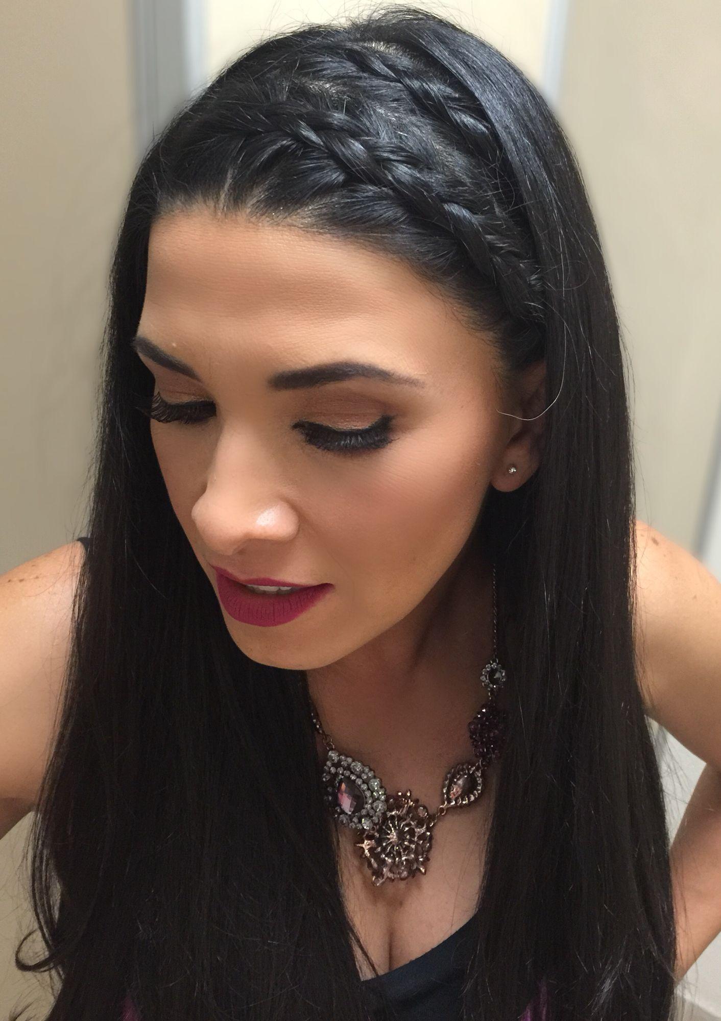 Rápido y fácil peinados de trenzas con pelo suelto Galería de cortes de pelo Consejos - Trenzas hechas por @tania8824   Peinados con trenzas ...