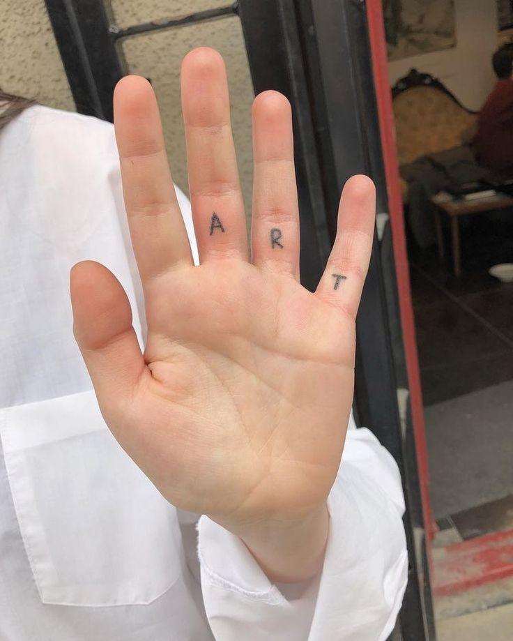 Love This Hidden Hand Tattoo Tattoos Aesthetic Tattoo Minimalist Tattoo