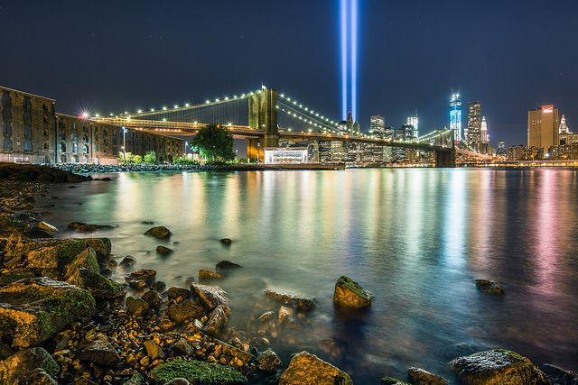 2012 Tribute in Light #7 by Ryan Budhu