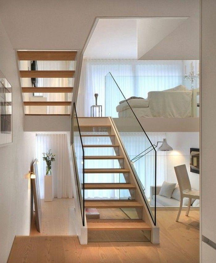 treppe mit glasgel nder f r schickes interieur treppe pinterest treppe treppe. Black Bedroom Furniture Sets. Home Design Ideas