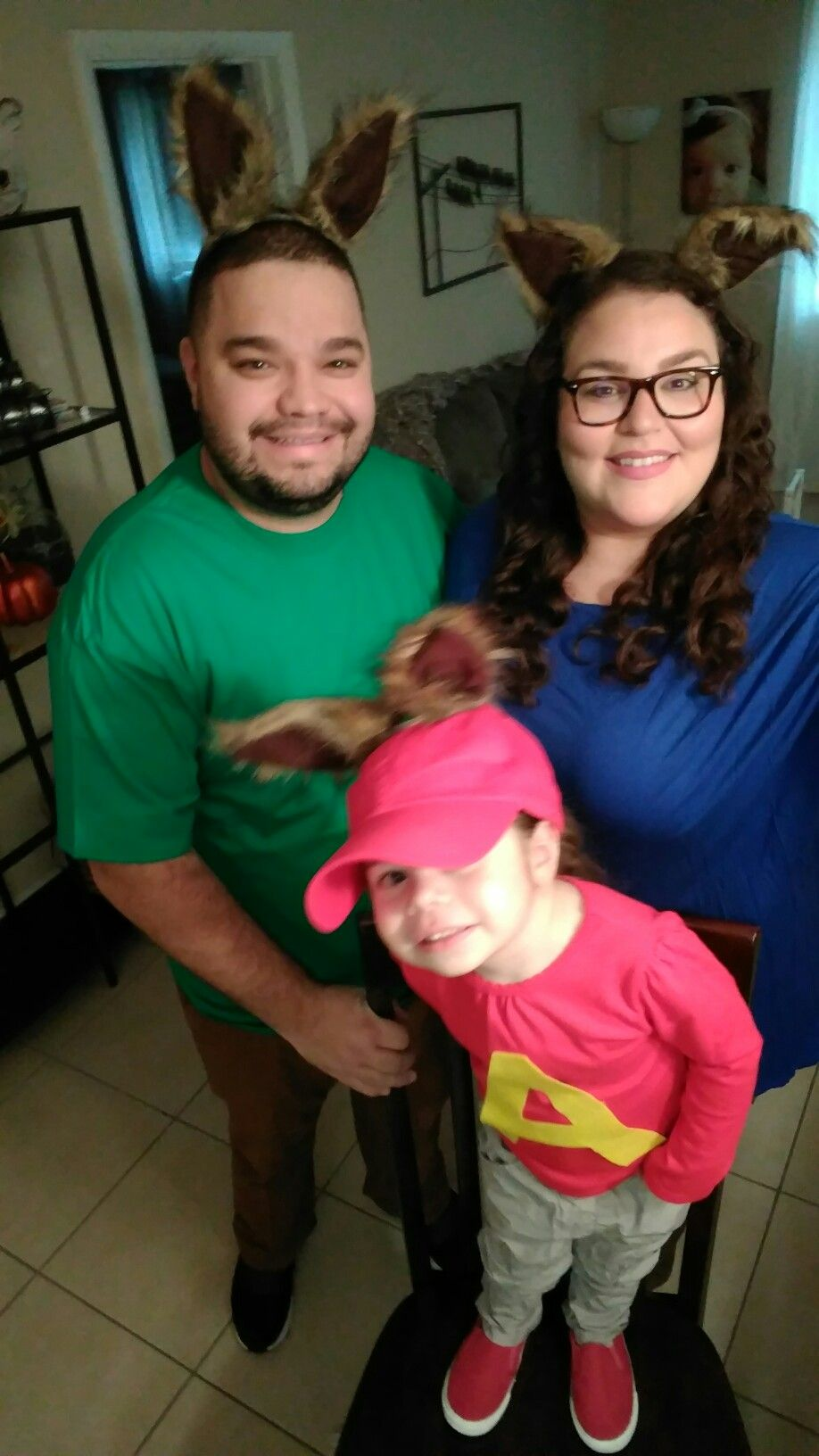 Alvin And The Chipmunks Family Diy Costume Alvin And The Chipmunks Diy Costumes Family Diy