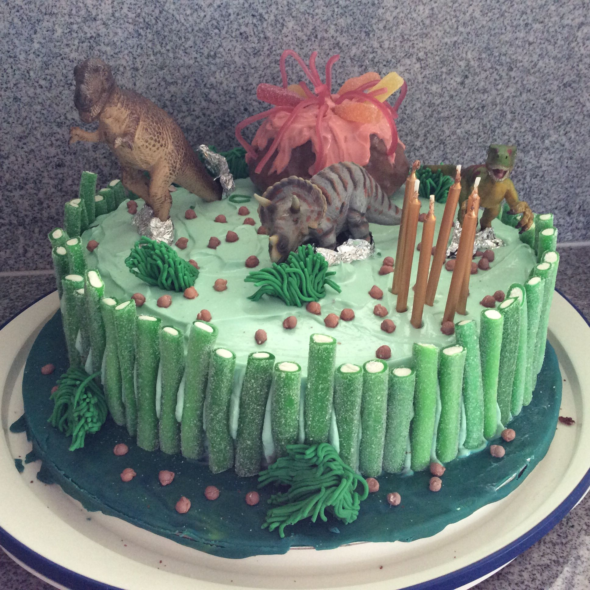 Dinokuchen Dino Kuchen Kinder Kuchen Geburtstag