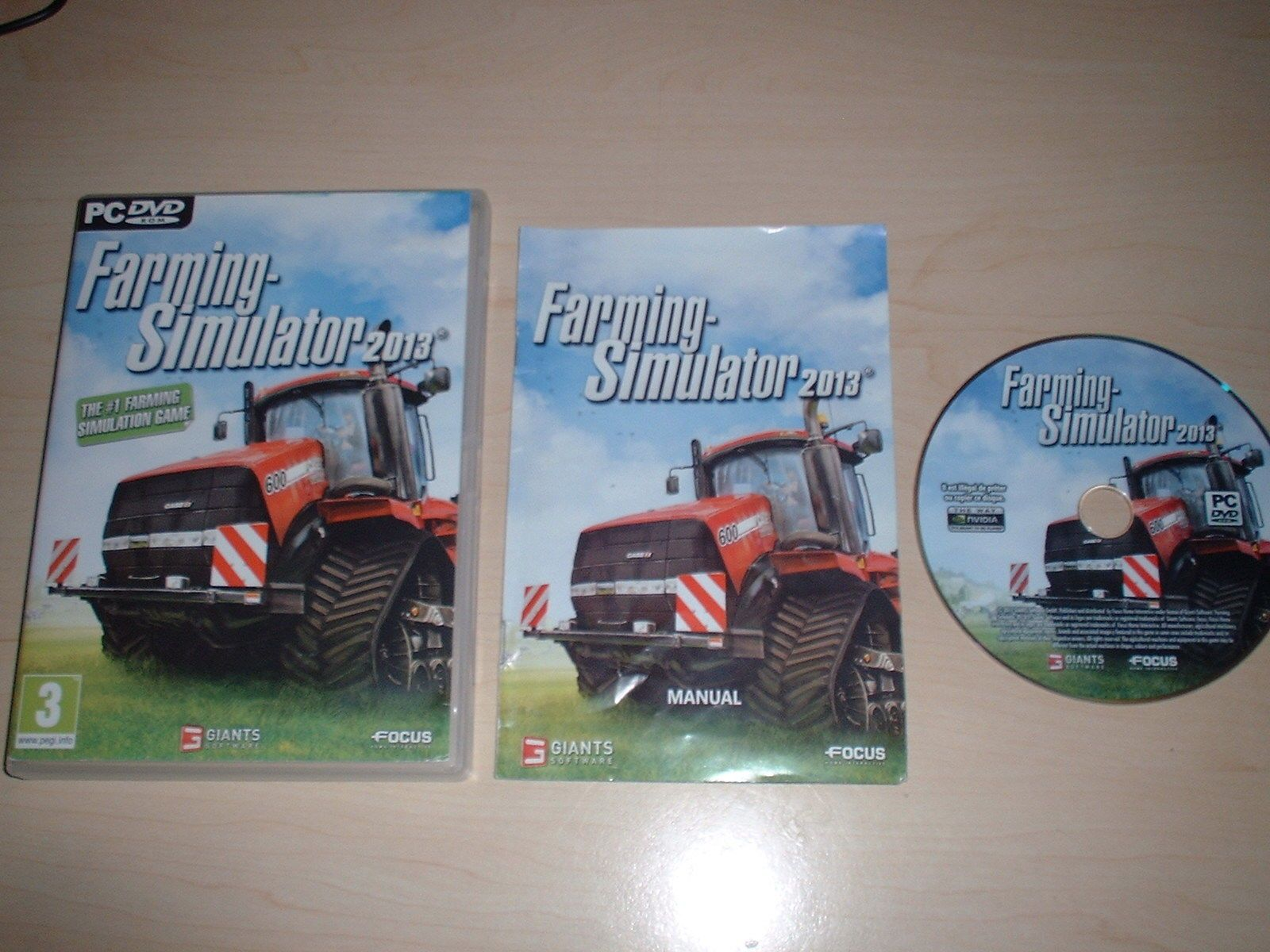#Farming #simulator 2013 - pc game pc #dvd-rom,  View more on the LINK: 	http://www.zeppy.io/product/gb/2/262840425877/