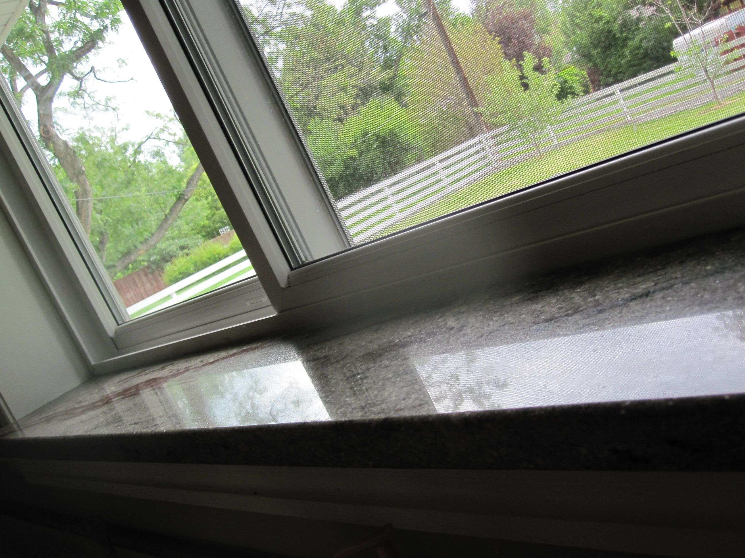 window sill flush with counter - Google Search | For the Home ...