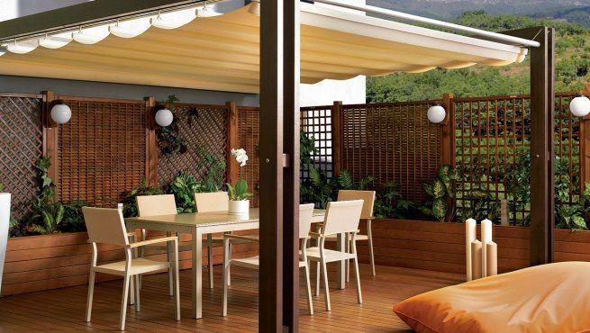 Pérgolas de madera para el jardín | Regalos | Pinterest | Pérgolas ...