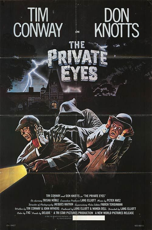 The Private Eyes. ALL time favorite movie. First movie I remember seeing at the theater. LOVE!