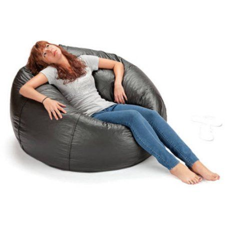 Pleasant X Rocker 132 Round Extra Large Shiny Bean Bag Multiple Pdpeps Interior Chair Design Pdpepsorg