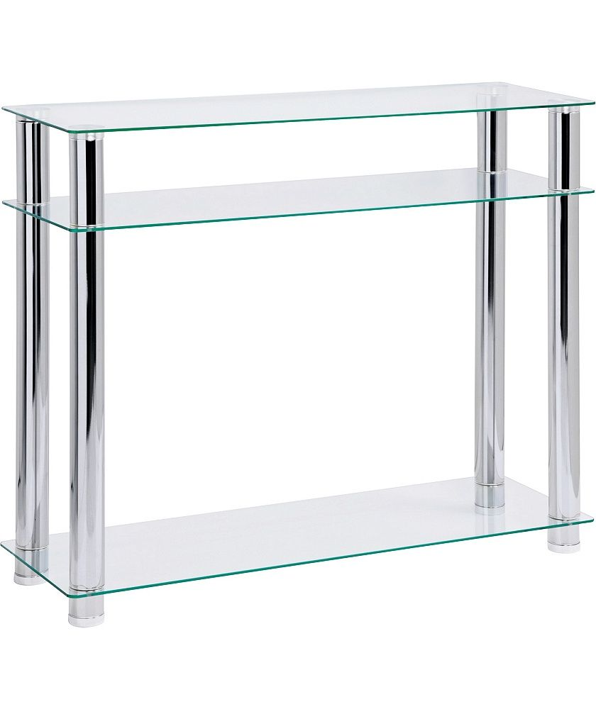 Buy hygena matrix console table clear glass at argos buy hygena matrix console table clear glass at argos your geotapseo Image collections