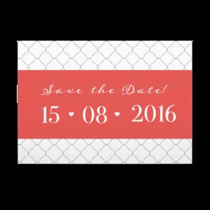 Save The Date Orientalische Inspiration Hochzeits Karten