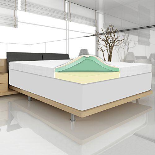 Sleep Revolution Memory Foam 4 Inch Topper Twin Mattresses