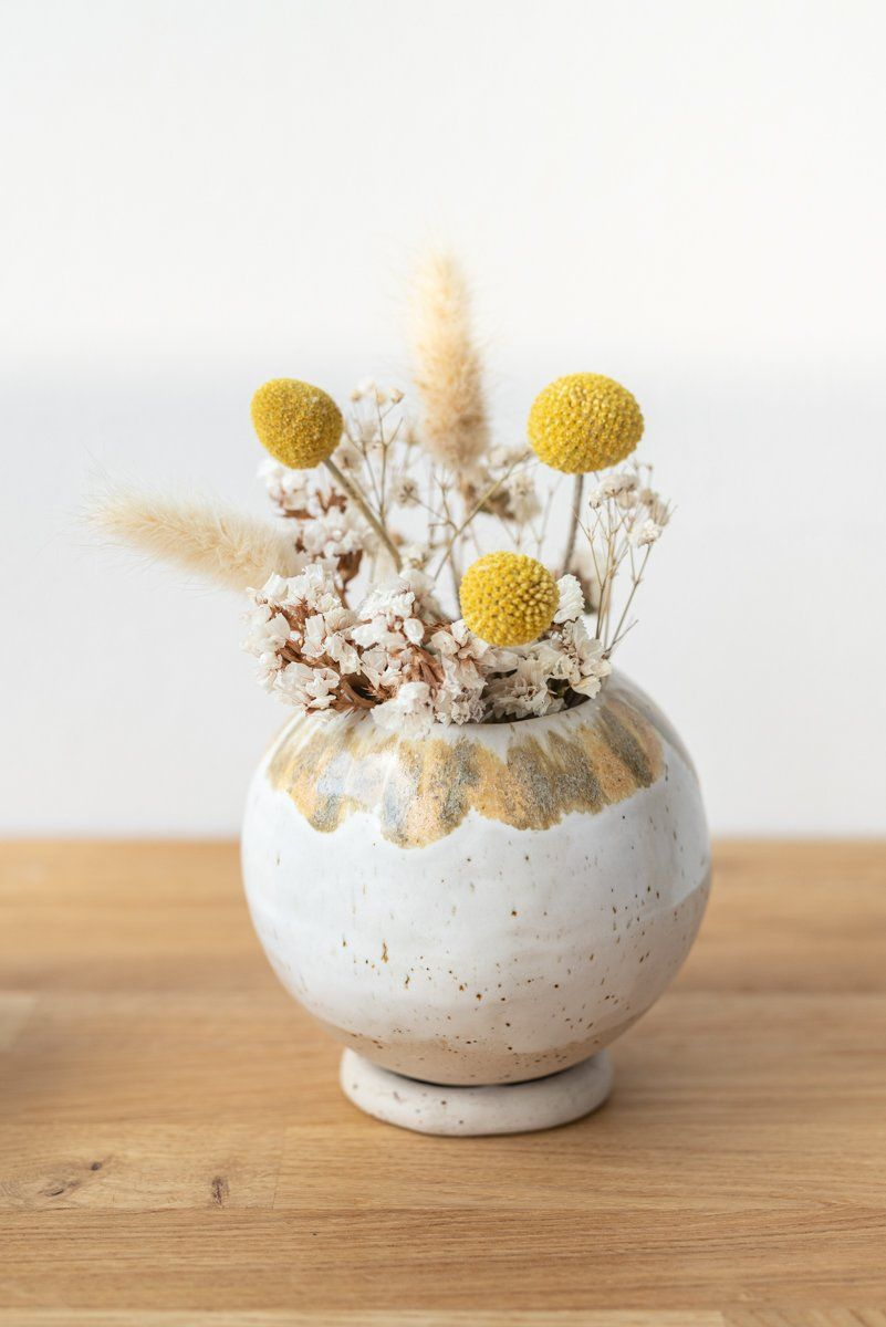 DIY – Töpferanleitung: Kugelvase und Blumentopf töpfern – Leelah Loves