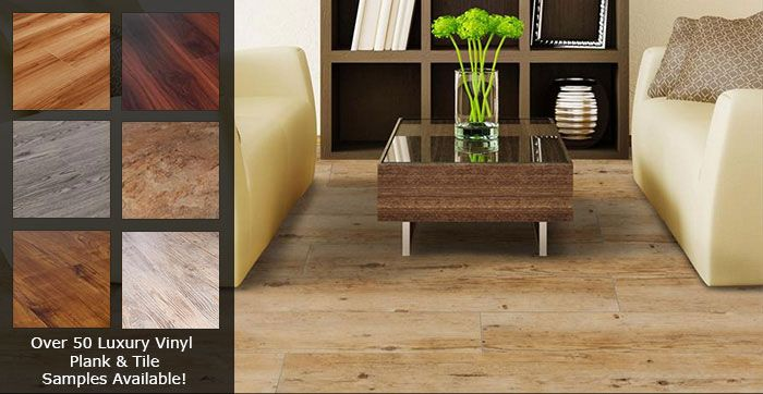 Luxury vinyl plank flooring vs laminate wood vs for Hardwood floors vs tile