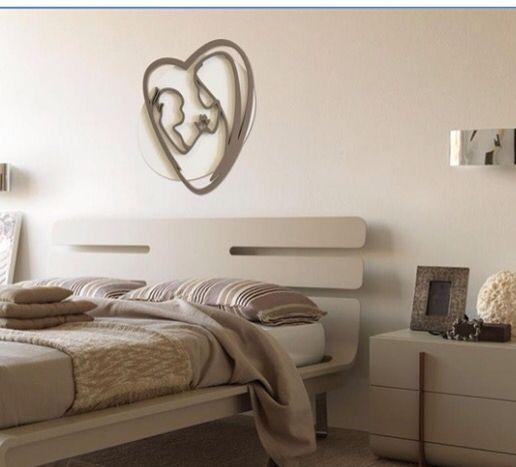 Capezzale letto moderno Mazzola luce | Camera da letto | Pinterest