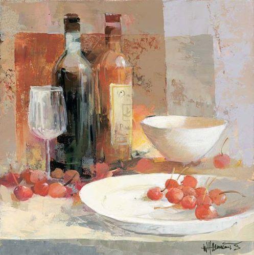 Willem-Haenraets-Wine-Creation-II-Keilrahmen-Bild-Leinwand-Wein - wandbilder für die küche