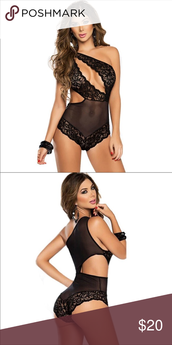 777330663 NWOT SEXY LINGERIE LACE HOLLOW BABYDOLL Women sexy lace Costumes bodysuit  Sexy underwear set. Intimates   Sleepwear