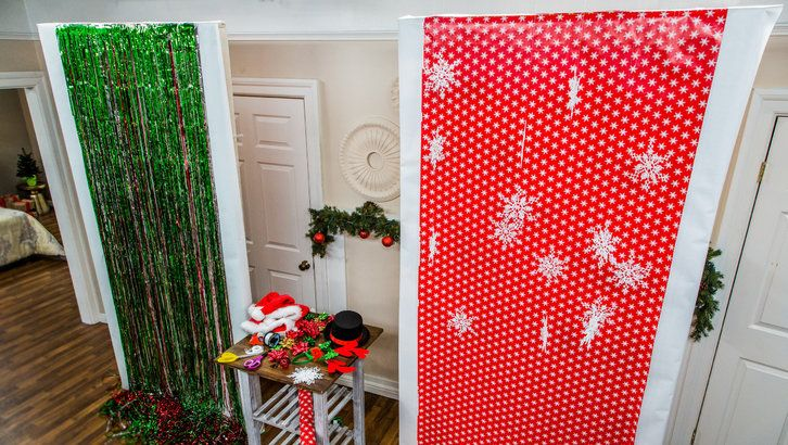 Diy holiday photo booth party pinterest photo booth holidays and box another wrapping paper from hobby lobby do it yourself another christmas photo booth backdrop ideas wrapping paper from hobby lobby solutioingenieria Image collections