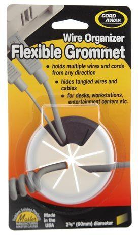 Flexible Desk Grommet In White Icon Desk Grommet Grommets Cable Grommet