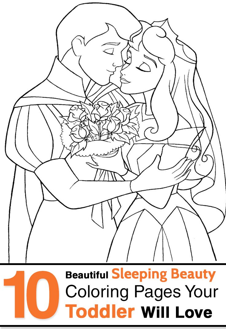 Top 15 Free Printable Sleeping Beauty Coloring Pages Online Free