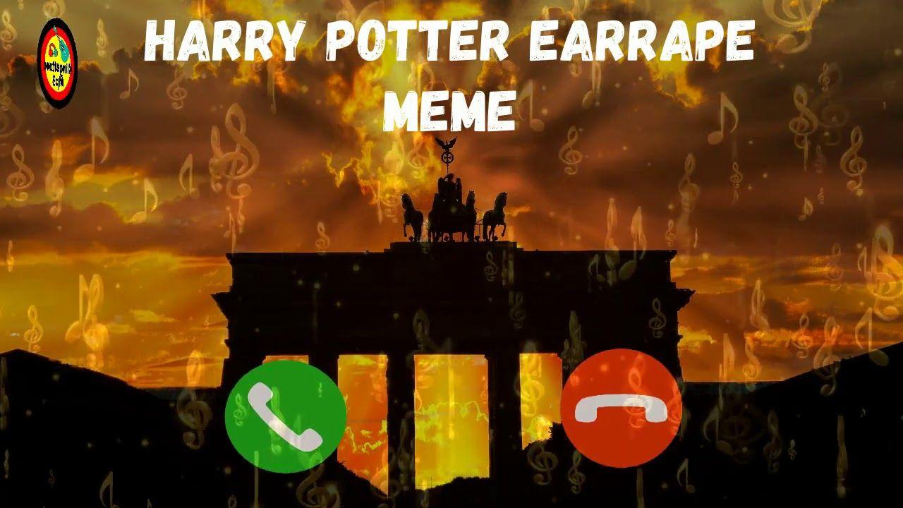 Harry Potter Earrape Meme Klingeltone Fur Ihr Telefon Herunter Klingel In 2020 Memes Harry Potter Telefon