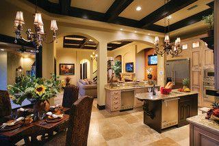 Ferretti House Plan House Design Kitchen House Plans Mediterranean House Designs