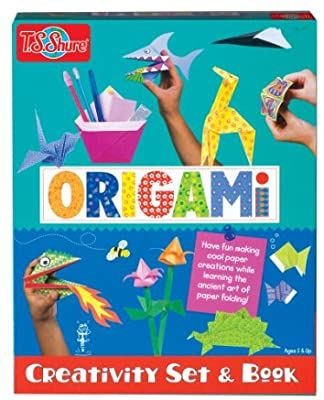 Photo of T.S. Shure Origami Creativity Set & Book