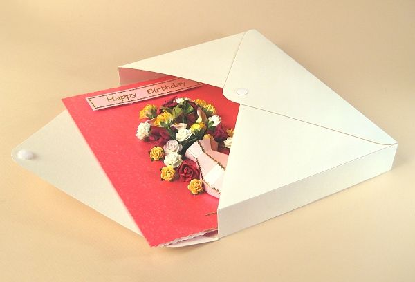 Card Craft \/ Card Making Templates - Vase Card Embellishment, card - envelope for resume