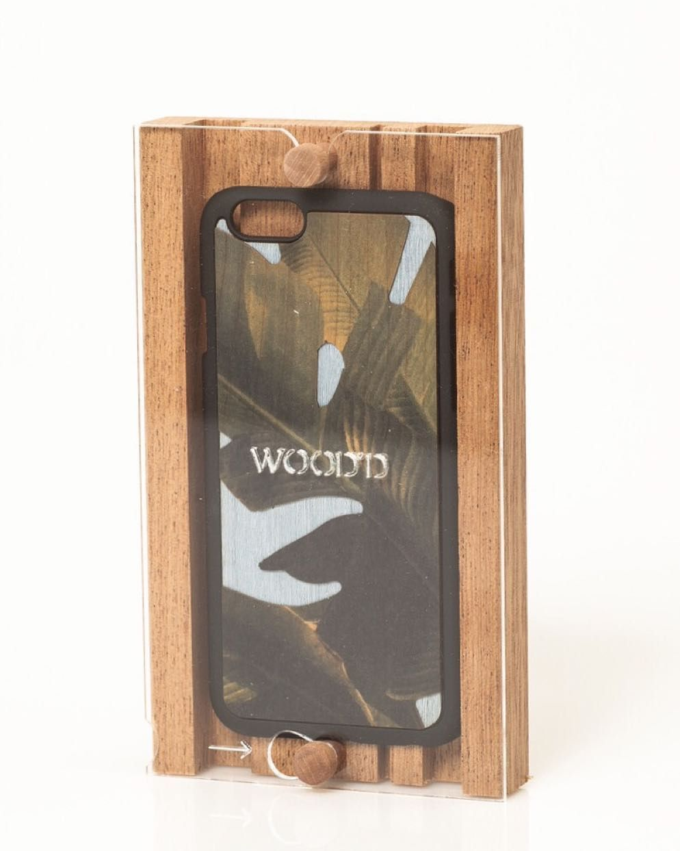 When the packaging becomes a products itself. Did you know our wooden pack once open it can be used as an iPhone stander? #Woodd #Packaging #Design #Brand