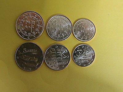 125 Euro Cent Münzen Griechenland Und Portugal 2002 6