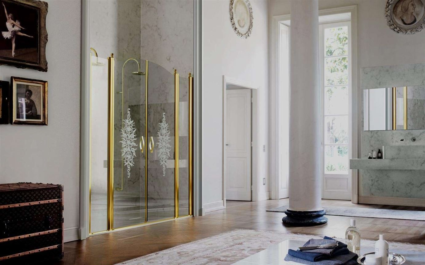 Classic, elegant and luxury shower enclosures, combining technical ...