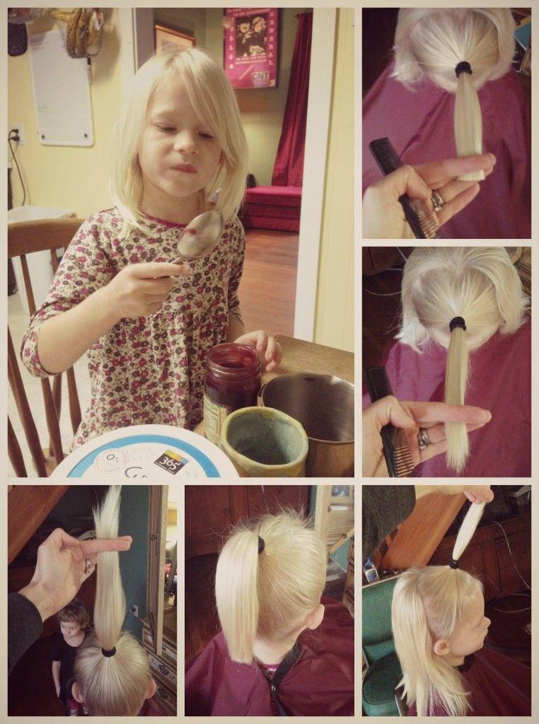 Perfect Little Lady Pony Haircut Diy Haircut Girl Haircuts