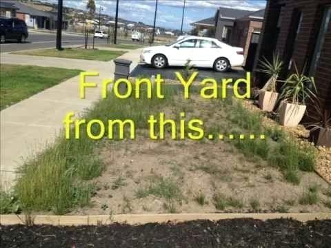 no maintenance front yard landscaping low maintenance ...