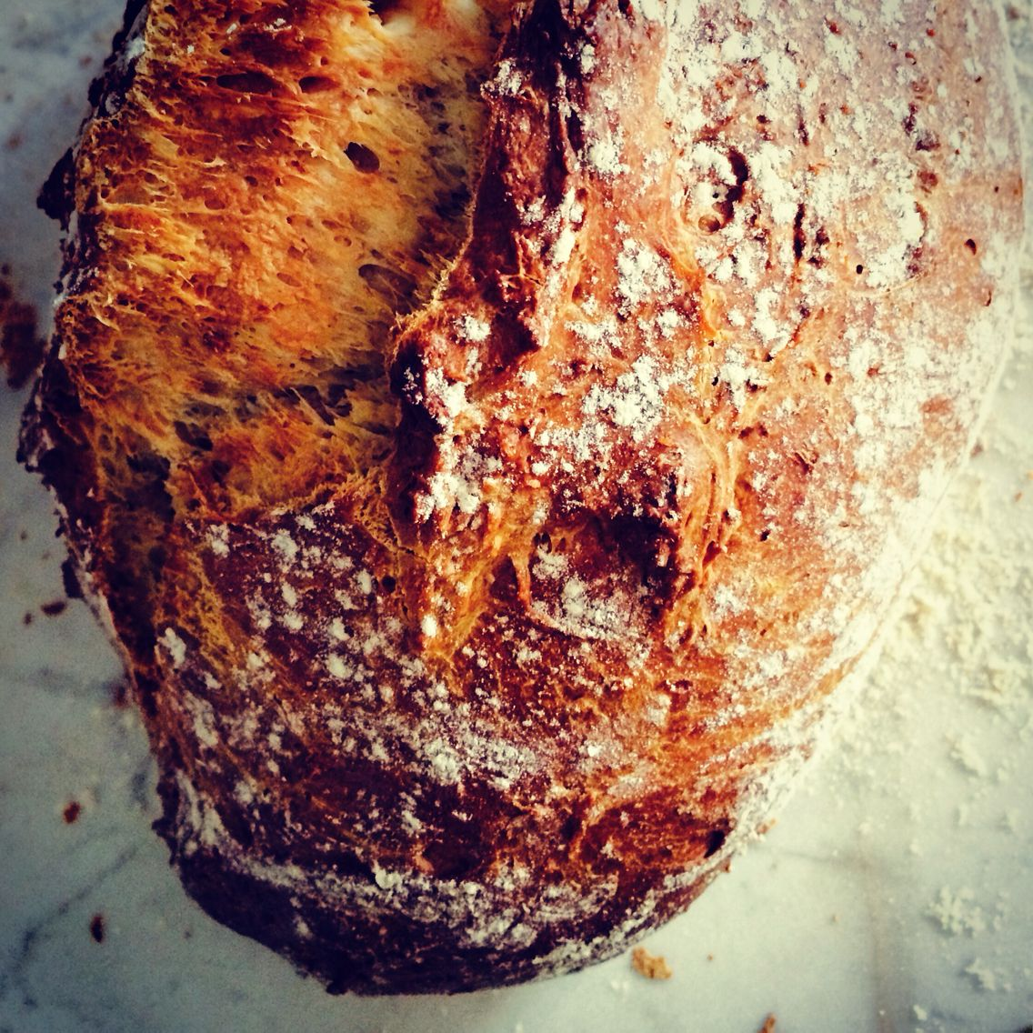 Today's stone baked sourdough loaf #mykitchen
