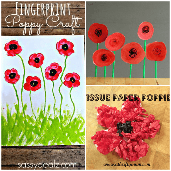 11 creative veterans day poppy crafts crafts activities and 11 creative veterans day poppy crafts from abcs to acts mightylinksfo
