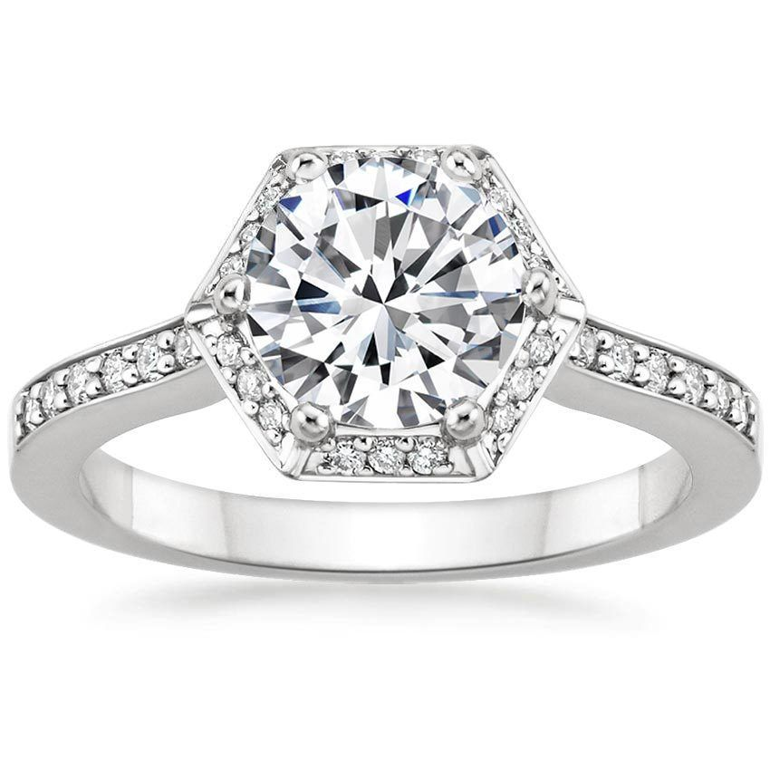 Both chic and sophisticated this distinctive ring features a