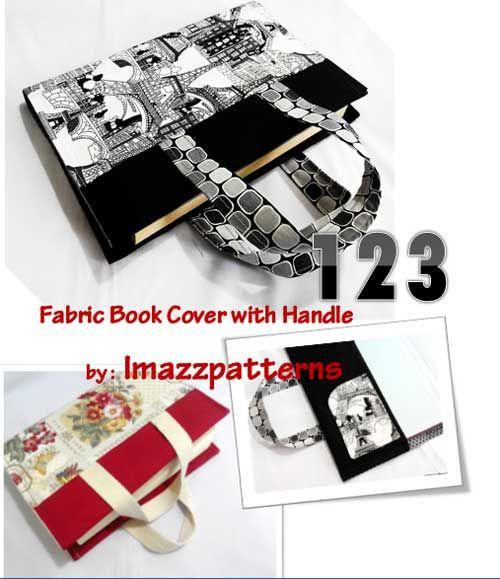 123 Book Bag - Free Sewing Tutorial | Buecher und Nähen