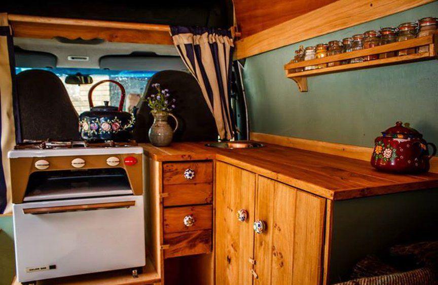 Sprinter Van Rustic Campers Bespoke Hardwood Interior Campervan Conversion Specialists