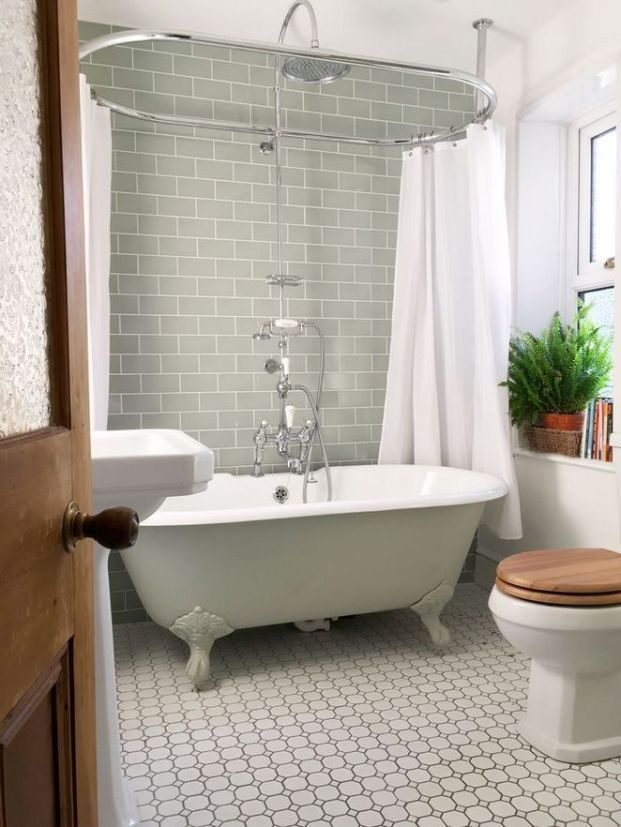 Freestanding Tub And Shower Combo