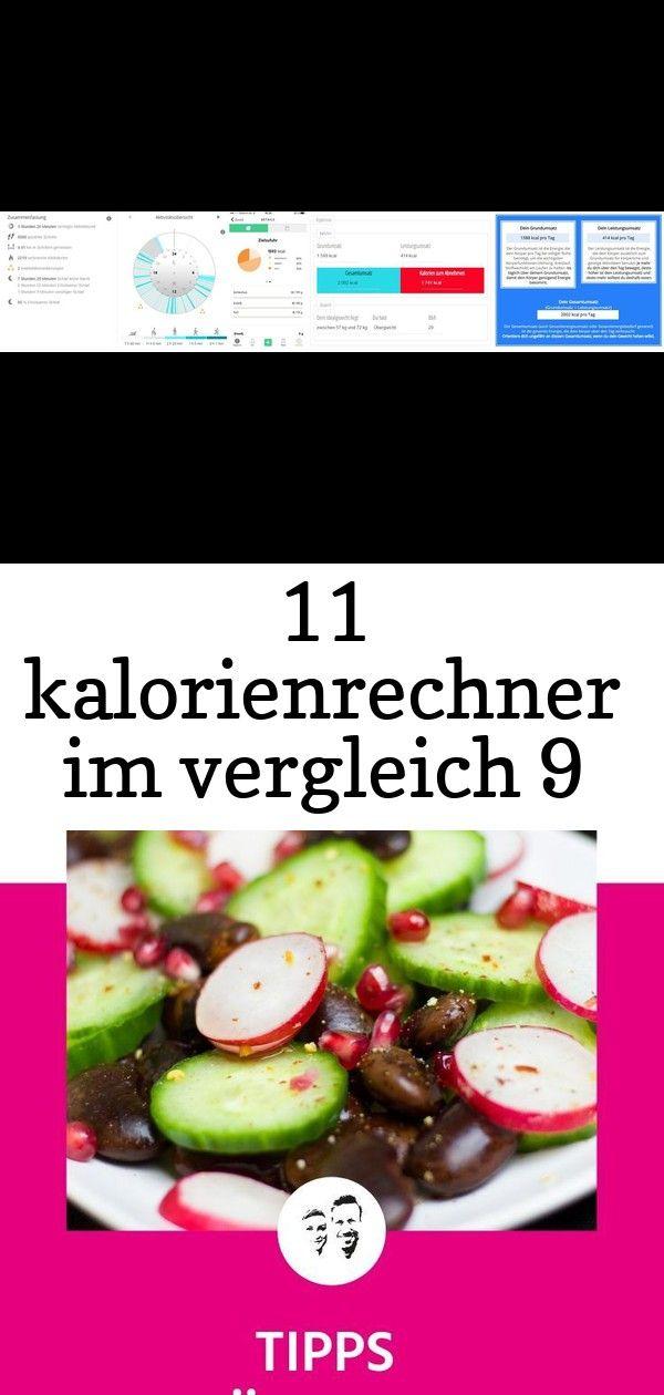 11 kalorienrechner im vergleich 9 - Calorie calculator..