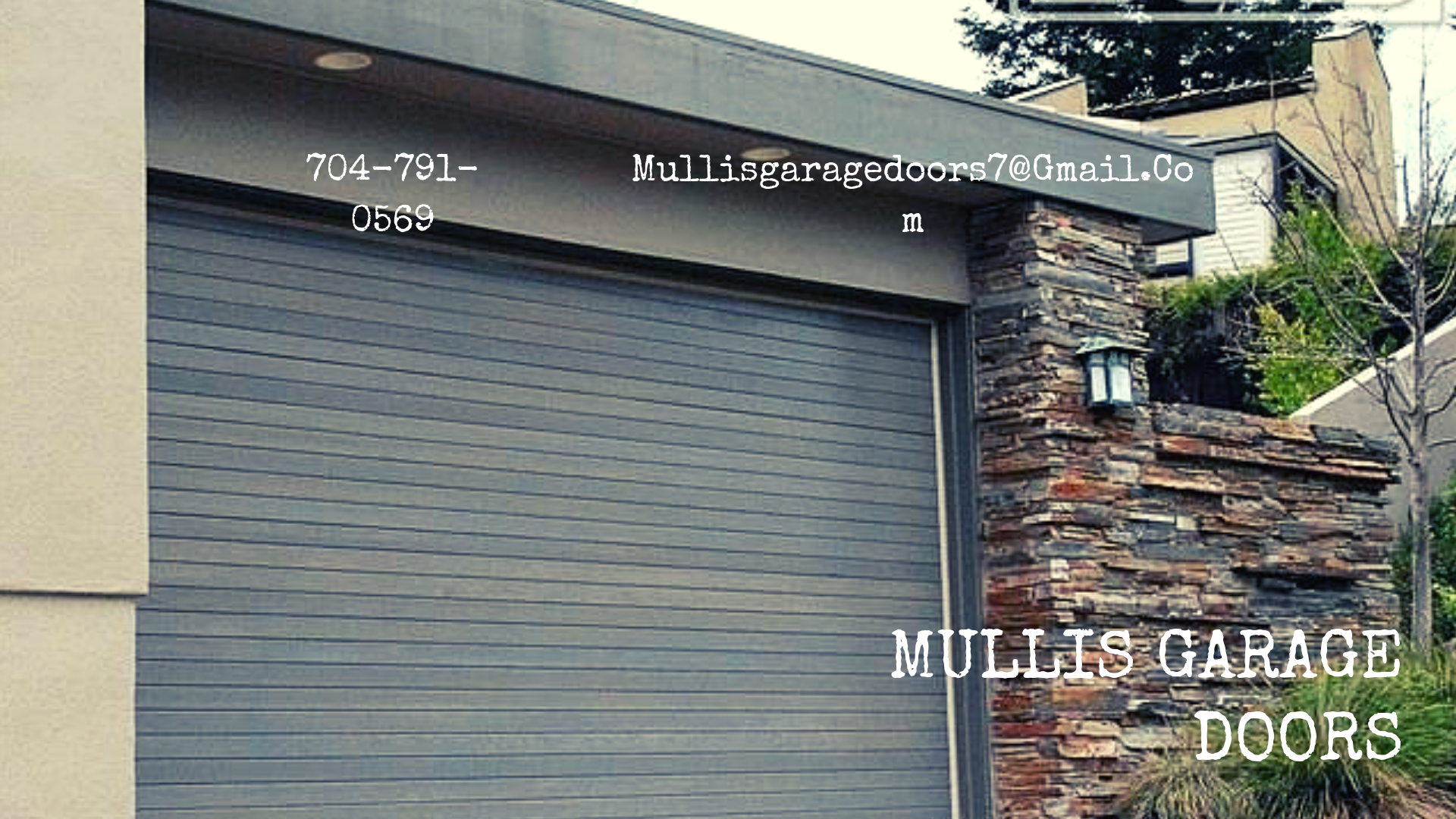 Mullis Garage Doors Providing Residential Garage Door In