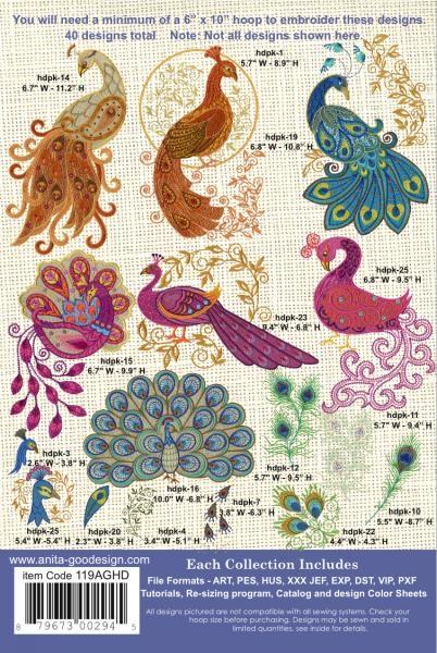 Anita Goodesign Peacocks Peacock Quilt Peacock Crochet