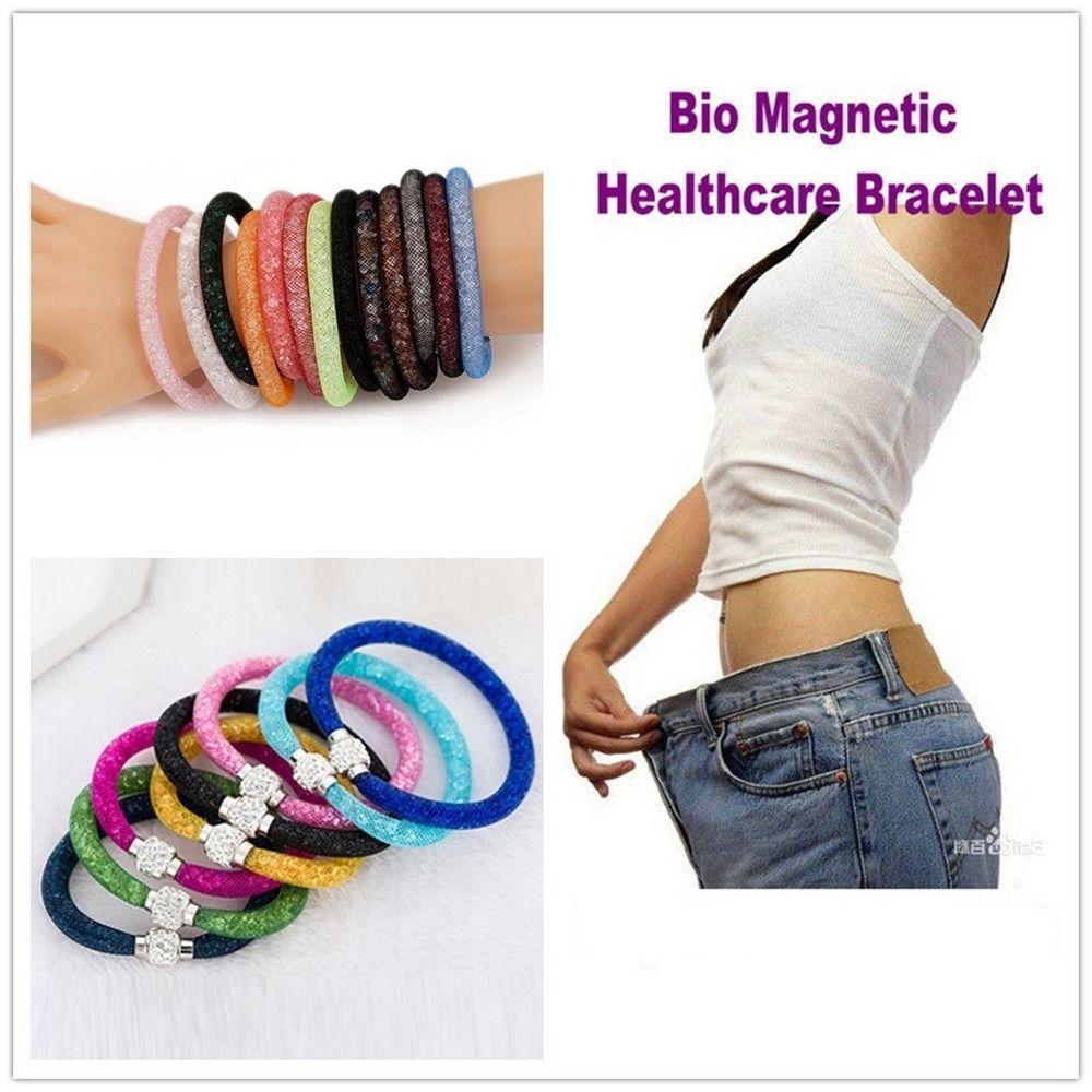 946bfd8f68f9f Bio Pulseira Magnética Da Saúde Perda De Peso Emagrecimento - R$ 35,00 em