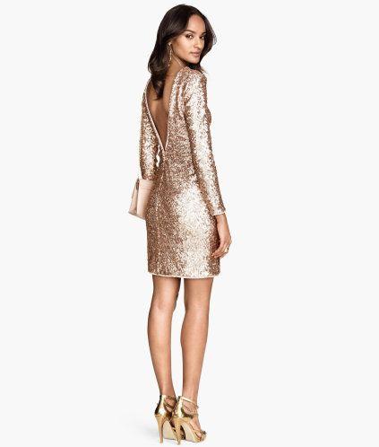 Glitter dress | H&M | All that glitters | Pinterest