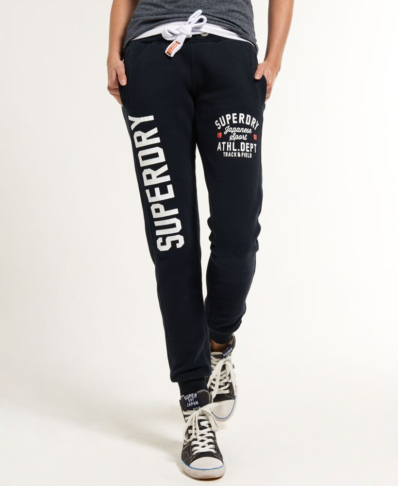 60348e3f8616 Womens - Trackster Joggers in Eclipse Navy   Superdry   Clothing ...