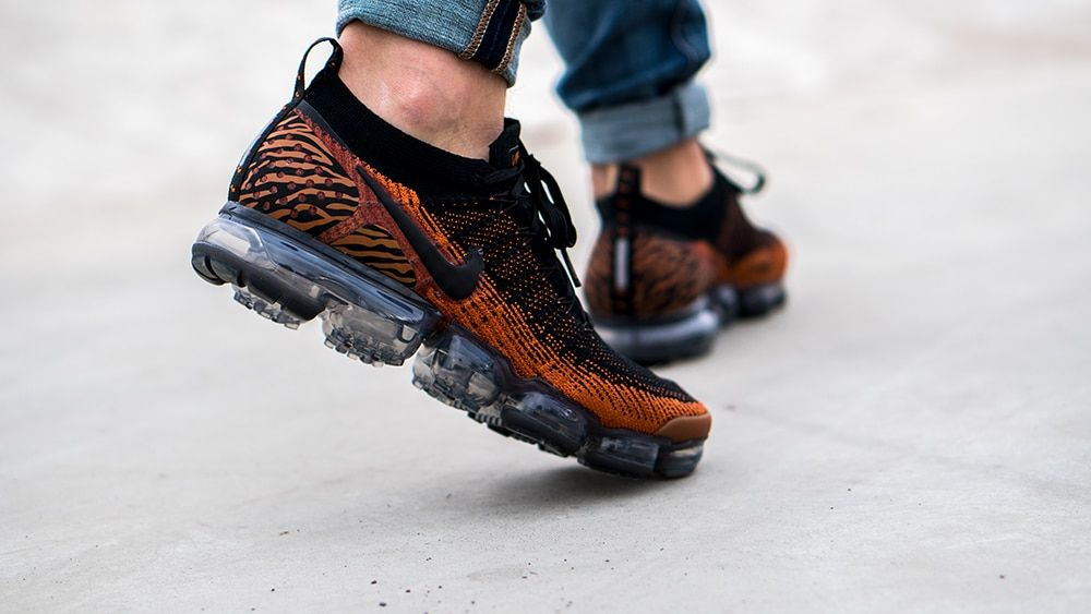 "low priced cb2f6 6f070 Nike Air Vapormax Flyknit 2.0 ""The Safari Animals Pack"" Tiger is dropping  Friday, November 2nd. 💻 Check the Link in our BIO for more information."