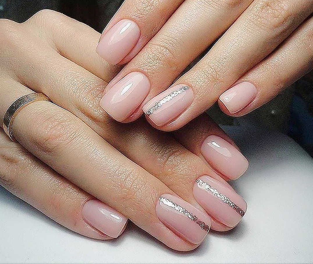 Cute nail designs for short nails shape of nails pinterest