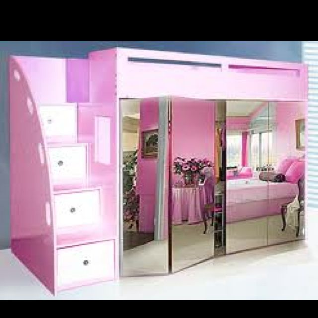And yet another loft bed Children Pinterest Lofts, Bedrooms
