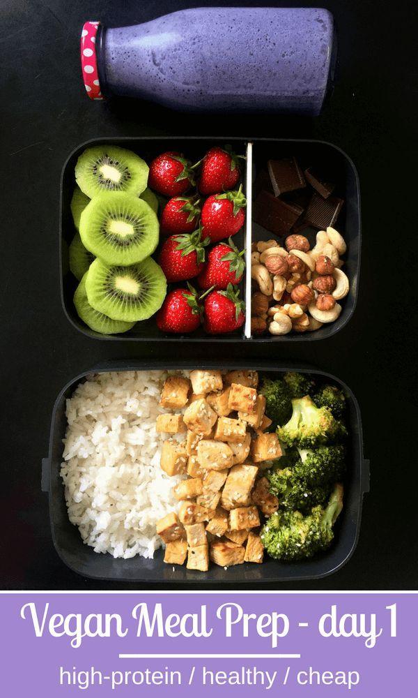 5-tägige proteinreiche vegane Mahlzeit zur Gewichtsreduktion   - food - #5tägige #food #Gewichtsreduktion #Mahlzeit #proteinreiche #vegane #zur #weeklymealprep