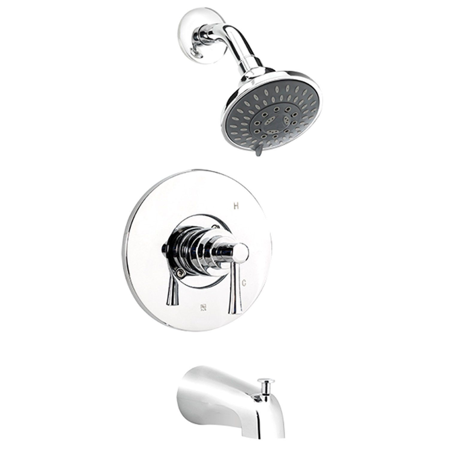 Belanger Neo90ccp Bathtub Shower Faucet With 1 Handle Polished